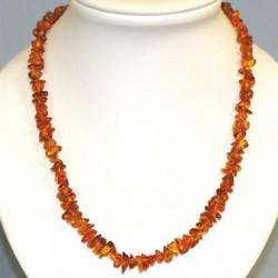 collier ambre baroque 45cm