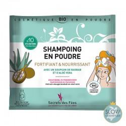 Shampoing en poudre...
